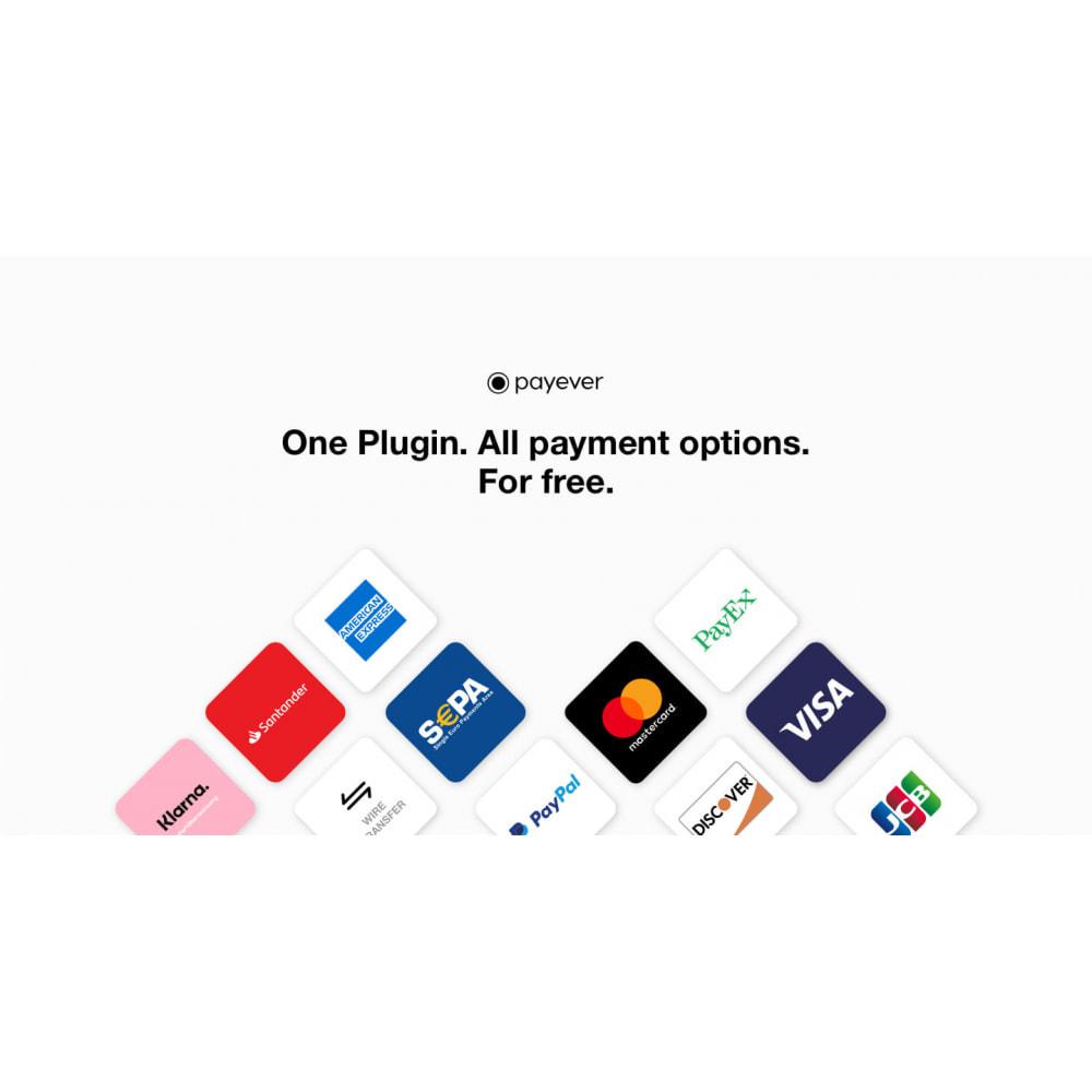 module - Paiement par Carte ou Wallet - payever - One plugin. All payment methods. - 1