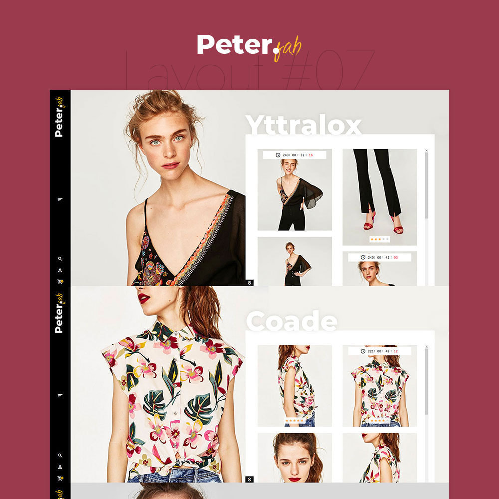 theme - Fashion & Shoes - Peter - Fashion Boutique For Creatives - 8