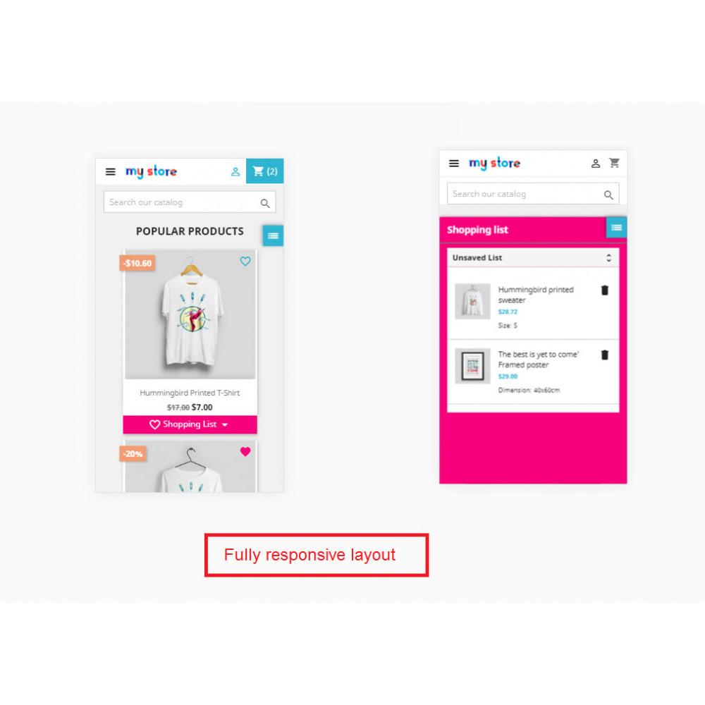 module - Lista życzeń & Karta podarunkowa - Shopping List   Wishlist Buy Later   Favorite Products - 29