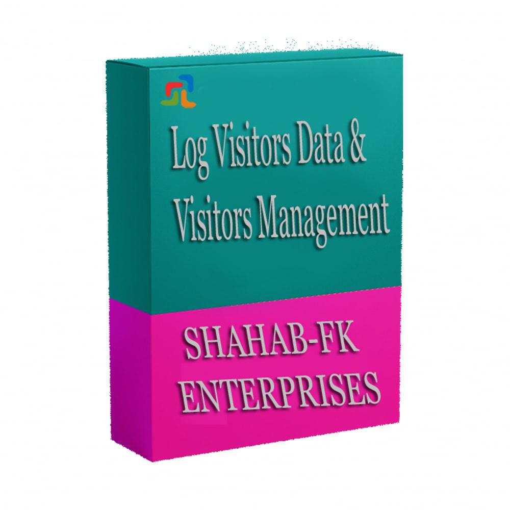 module - Analyses & Statistiques - Adresse IP des visiteurs et détails de géolocalisation - 5