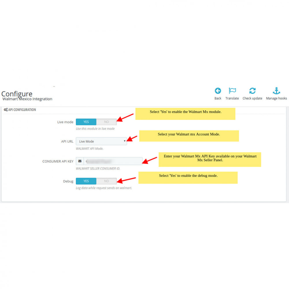 module - Datenabbindungen zu Drittsystemen (CRM, ERP, ...) - Walmart Mexico Integration - 2