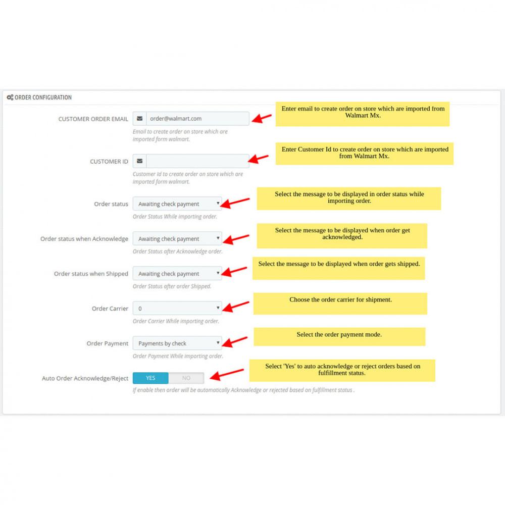 module - Datenabbindungen zu Drittsystemen (CRM, ERP, ...) - Walmart Mexico Integration - 4