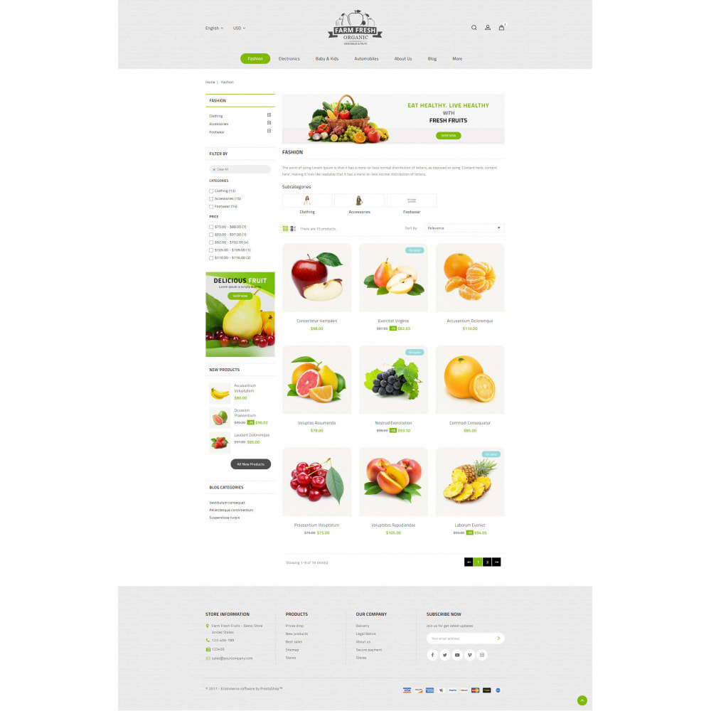 theme - Alimentos & Restaurantes - Farm Fresh - Super Market Store - 12