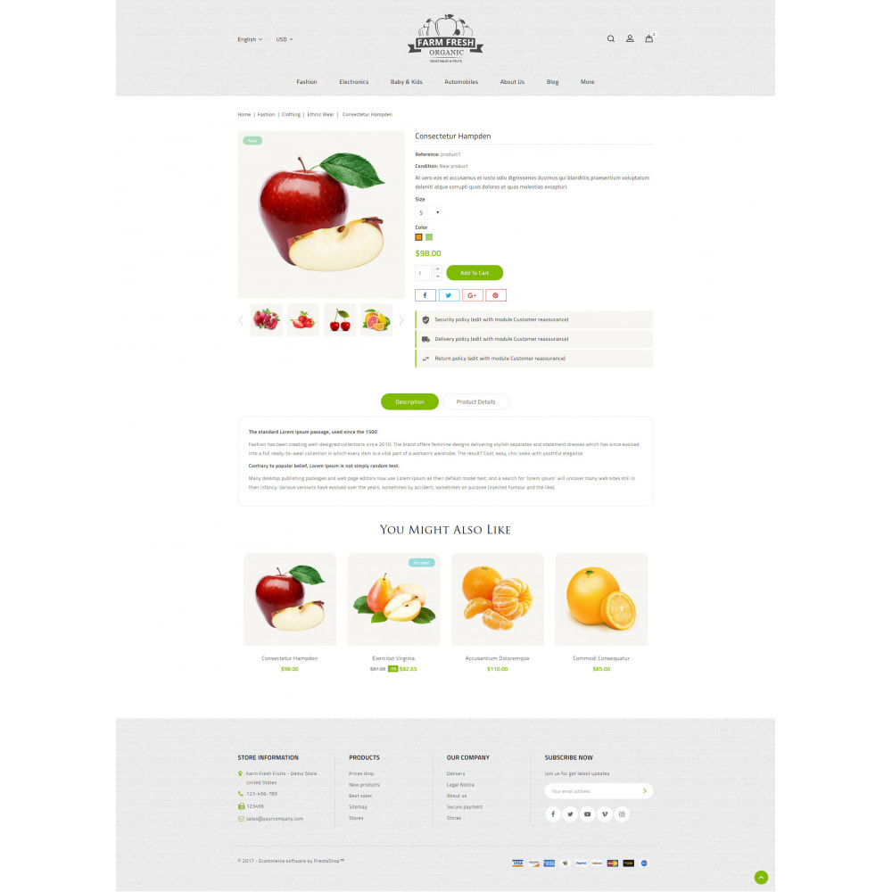 theme - Alimentos & Restaurantes - Farm Fresh - Super Market Store - 14
