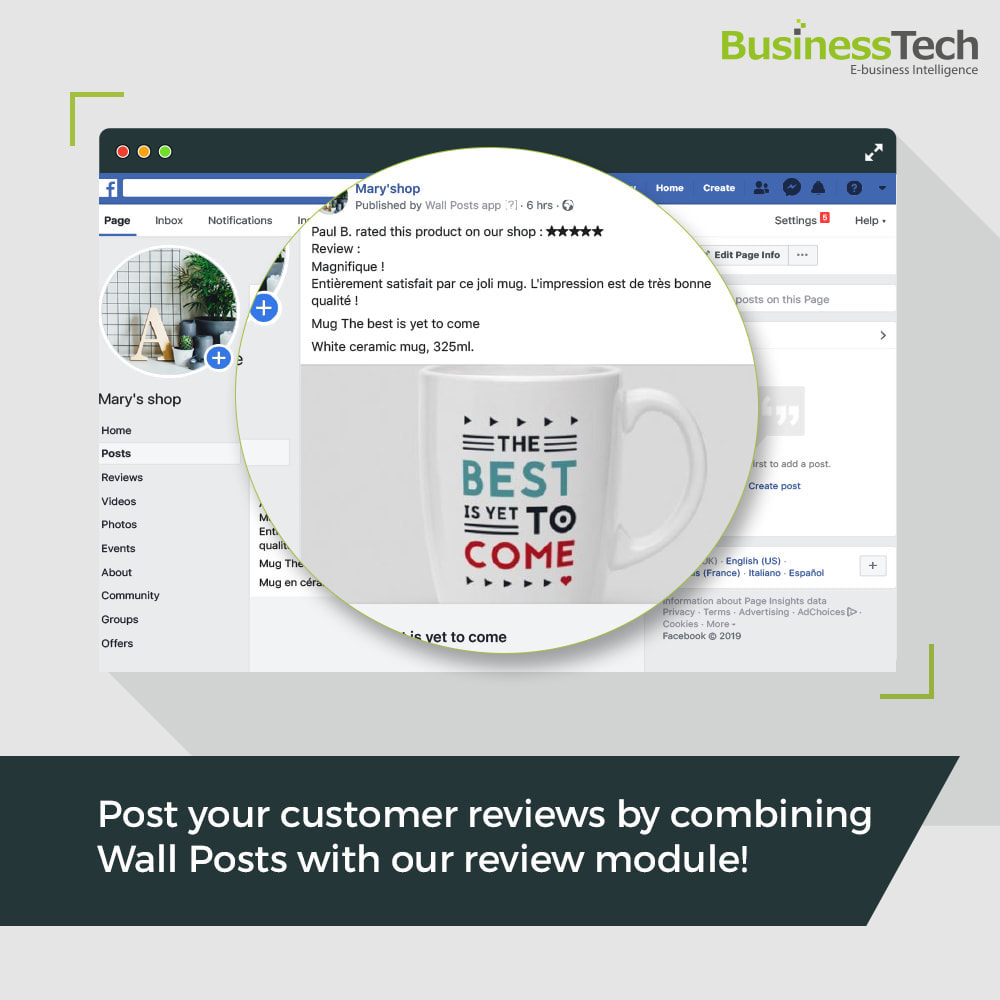 module - Products on Facebook & Social Networks - Wall Posts - 3