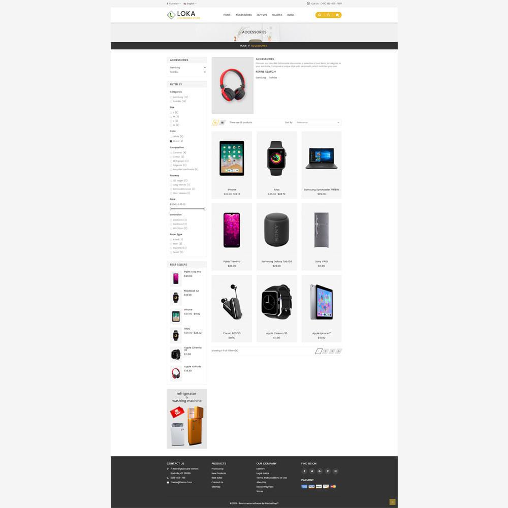 theme - Electronics & Computers - Loka Electronic Store - 3