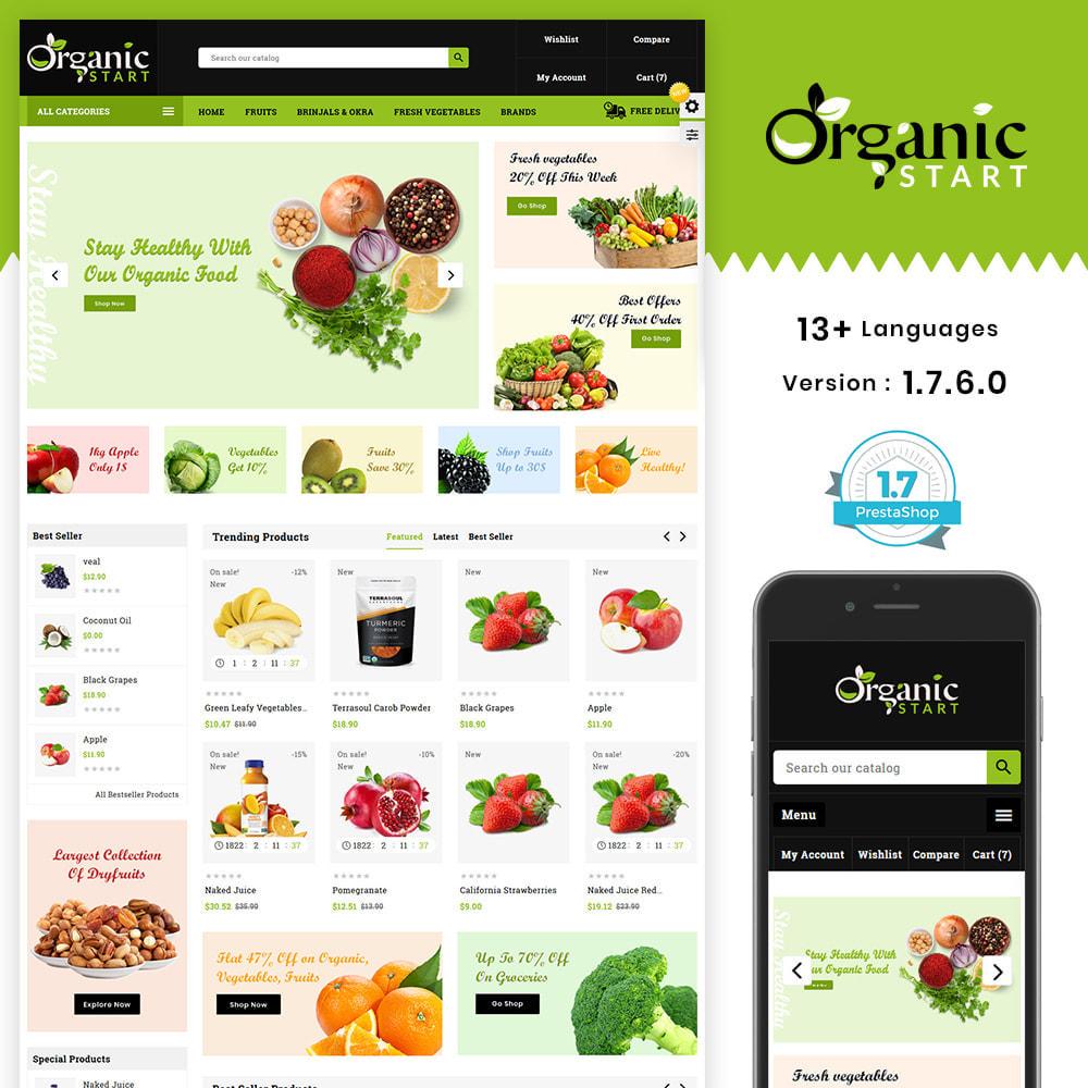 theme - Prezenty, Kwiaty & Uroczystości - Organic Store - 1