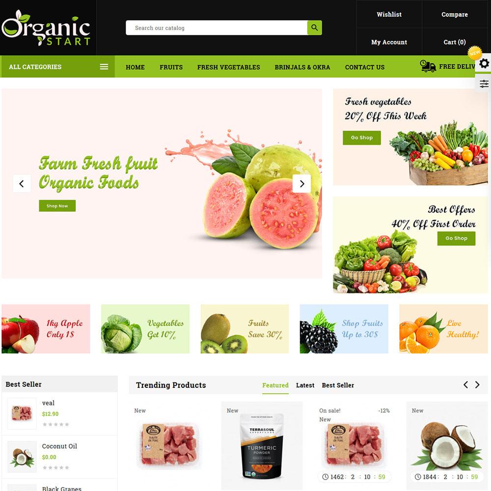 theme - Prezenty, Kwiaty & Uroczystości - Organic Store - 2