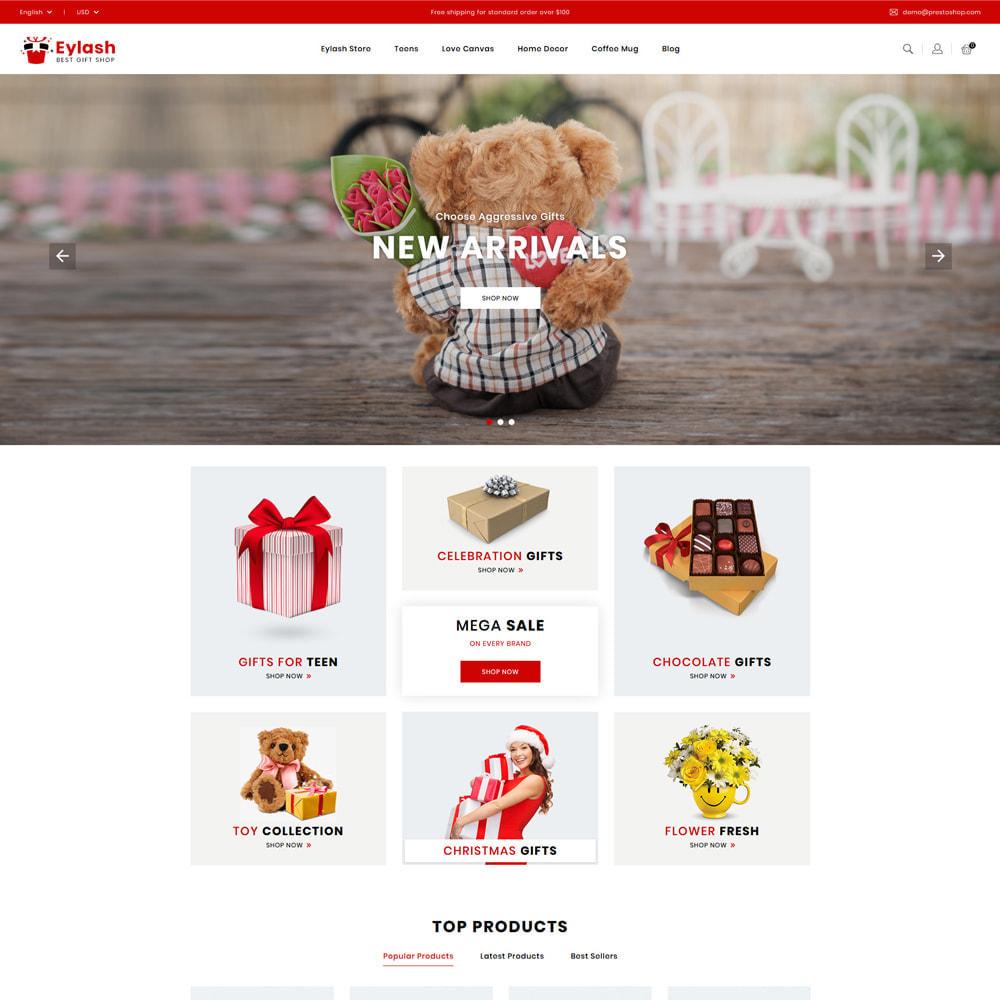 theme - Gifts, Flowers & Celebrations - Eylash Gifts & Celebrations Shop - 2