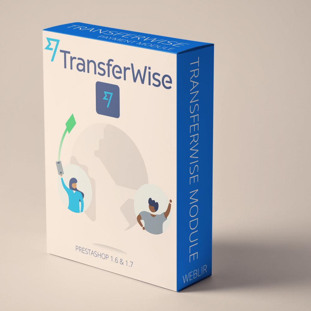 module - Paiement par Carte ou Wallet - Transferwise paiements - 1