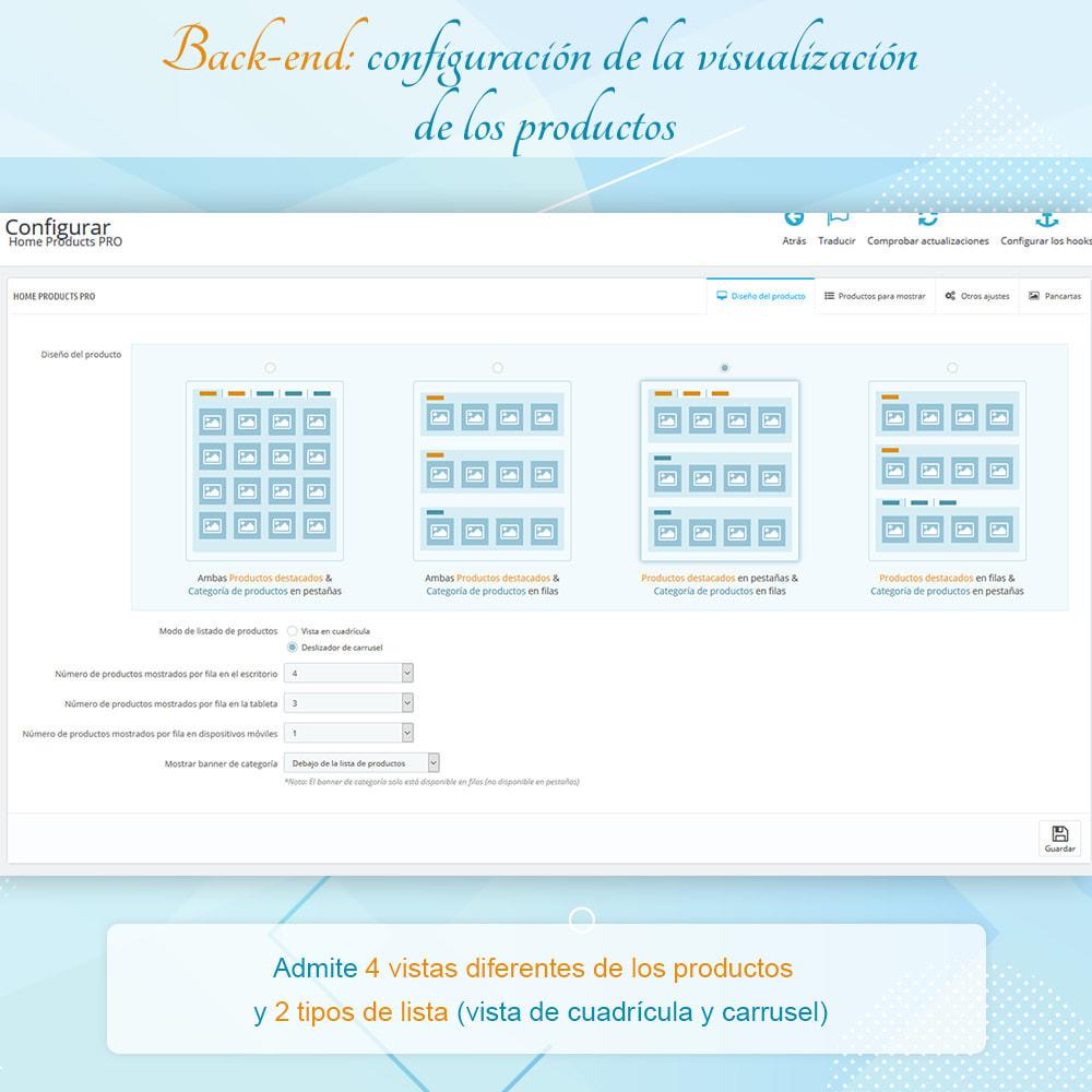 module - Productos en la página de inicio - Home Products PRO - Lista de producto personalizable - 6