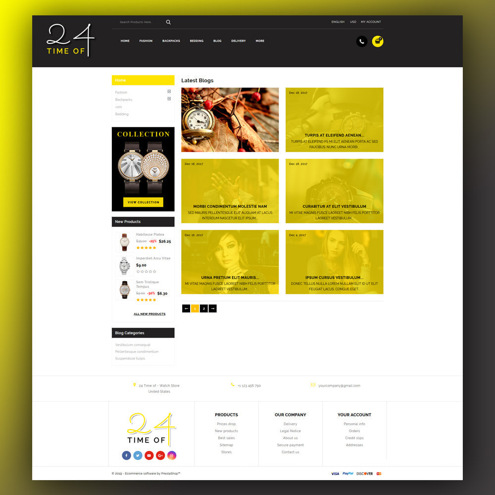 theme - Bellezza & Gioielli - 24 Time of - Watch Store - 7