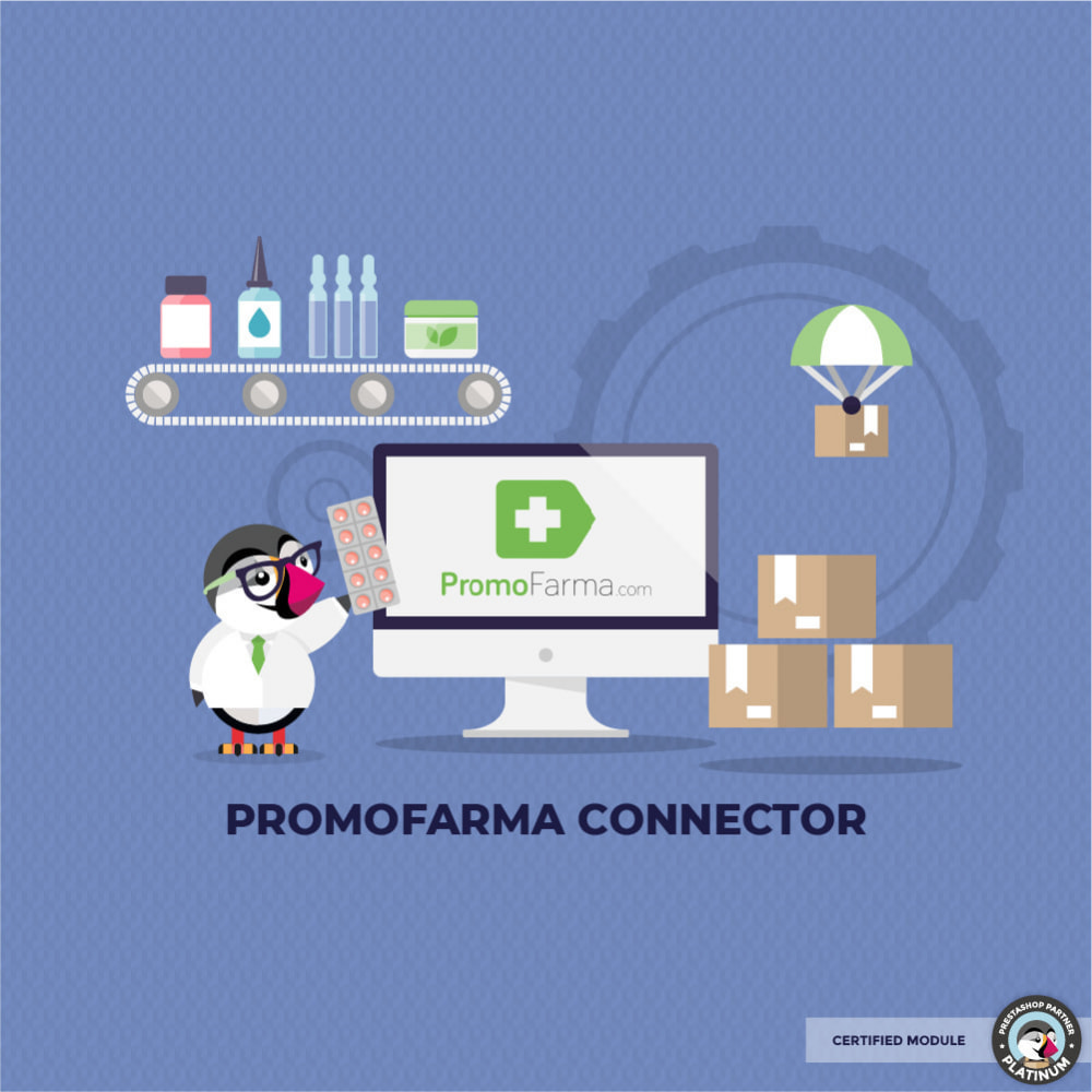 module - Торговая площадка - Connector with Promofarma Market Place - 1