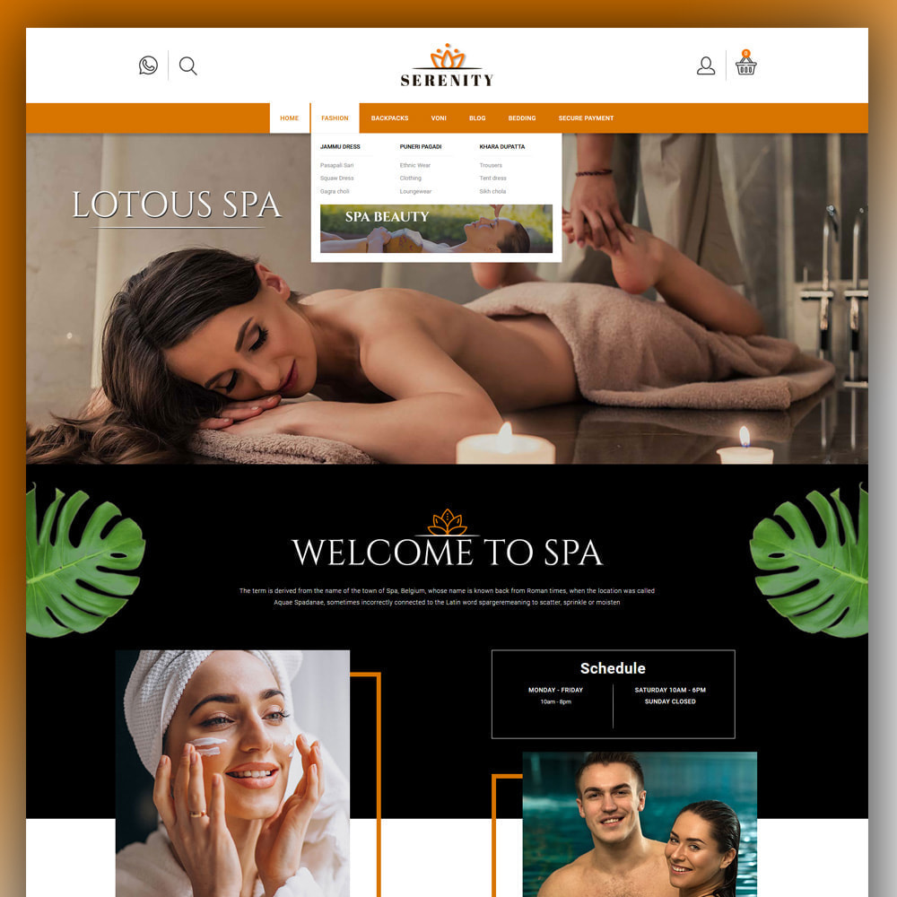 theme - Health & Beauty - Serenity - Spa Store - 2