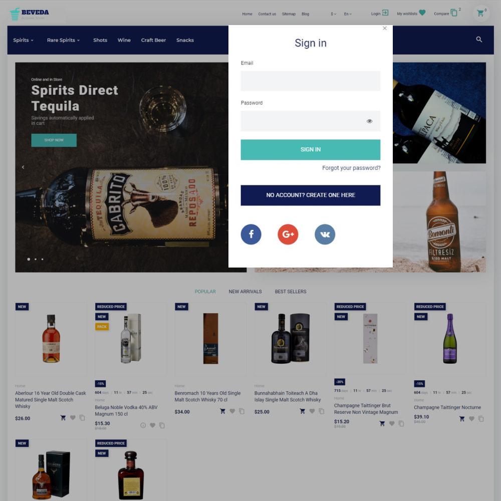 theme - Boissons & Tabac - Beveda - Alcohol Shop - 4