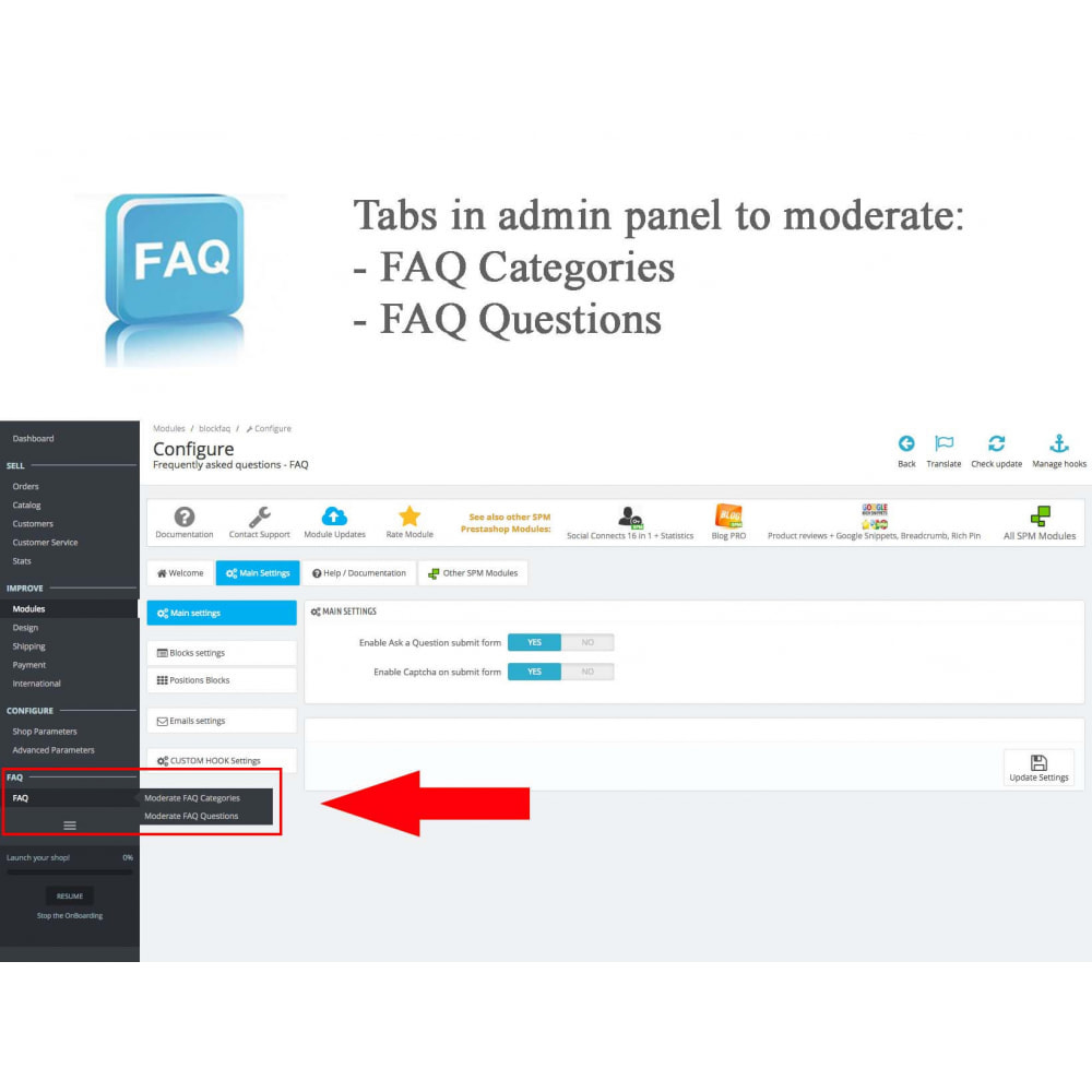 module - FAQ (Domande Frequenti) - Frequently asked questions - FAQ - 12