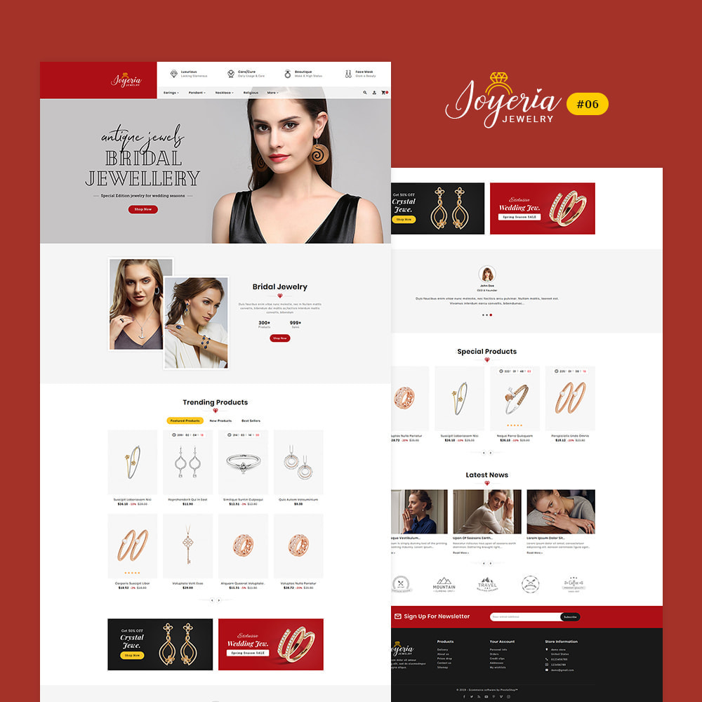 theme - Bellezza & Gioielli - Joyeria - Imitation Jewelry & Diamond Shop - 7
