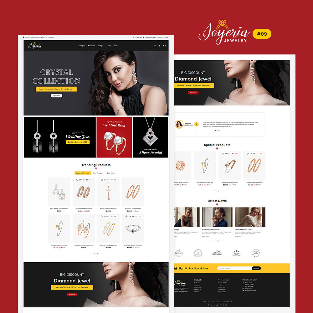 theme - Bellezza & Gioielli - Joyeria - Imitation Jewelry & Diamond Shop - 10