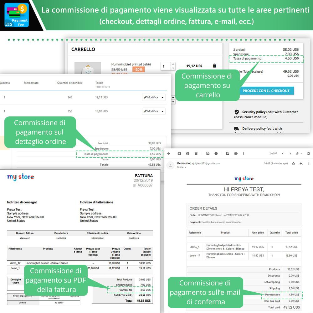 module - Altri Metodi di Pagamento - Payment With Fee: Paypal, Stripe, bonifico, ecc. - 4