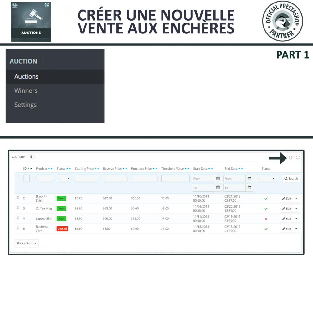 module - Site d'enchères - Enchères Pro - Système d'enchères en ligne - 12