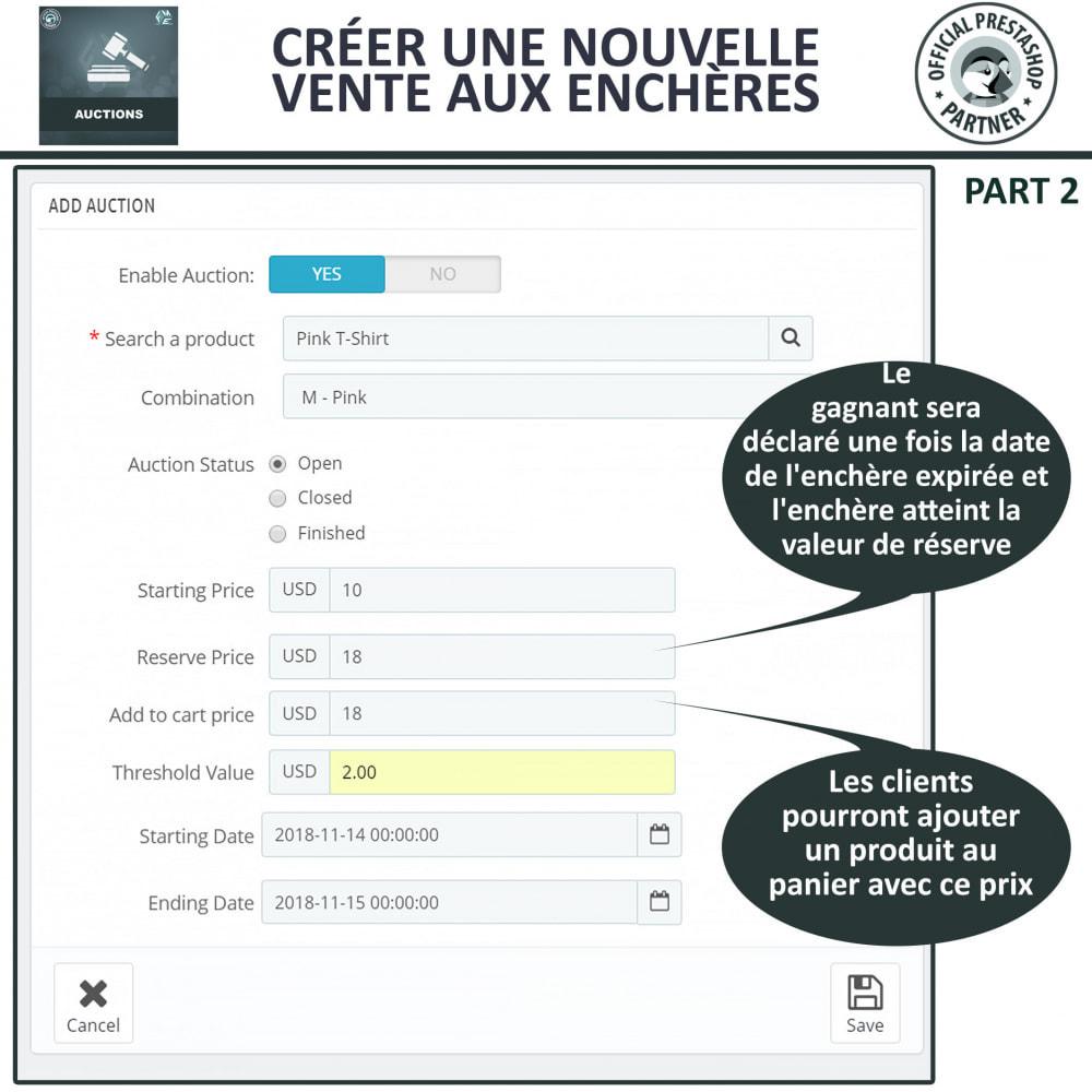 module - Site d'enchères - Enchères Pro - Système d'enchères en ligne - 7