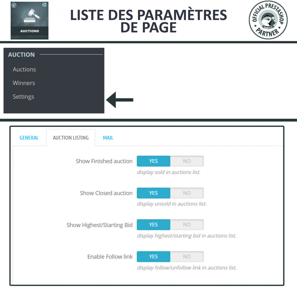 module - Site d'enchères - Enchères Pro - Système d'enchères en ligne - 18
