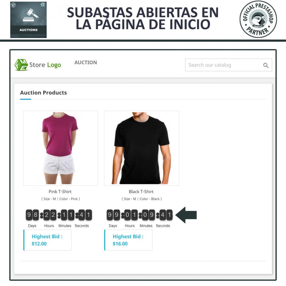 module - Web de Subastas - Subasta Pro - Subastas en línea y oferta - 2