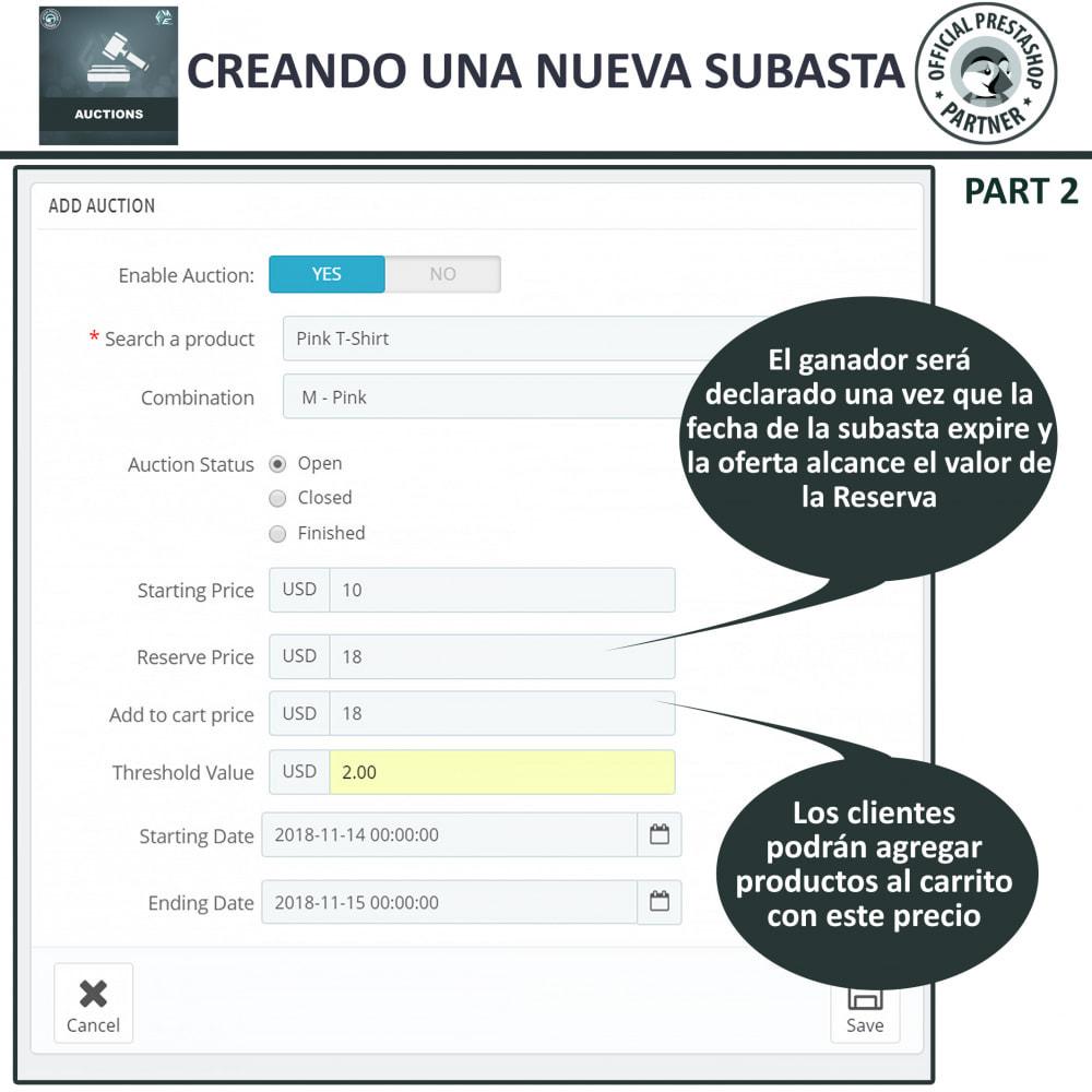 module - Web de Subastas - Subasta Pro - Subastas en línea y oferta - 7