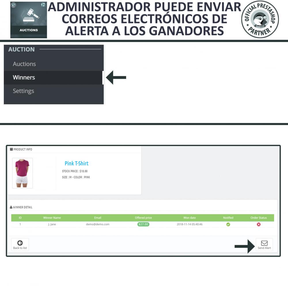 module - Web de Subastas - Subasta Pro - Subastas en línea y oferta - 11