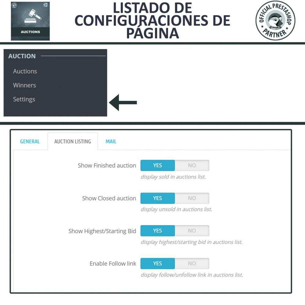 module - Web de Subastas - Subasta Pro - Subastas en línea y oferta - 13
