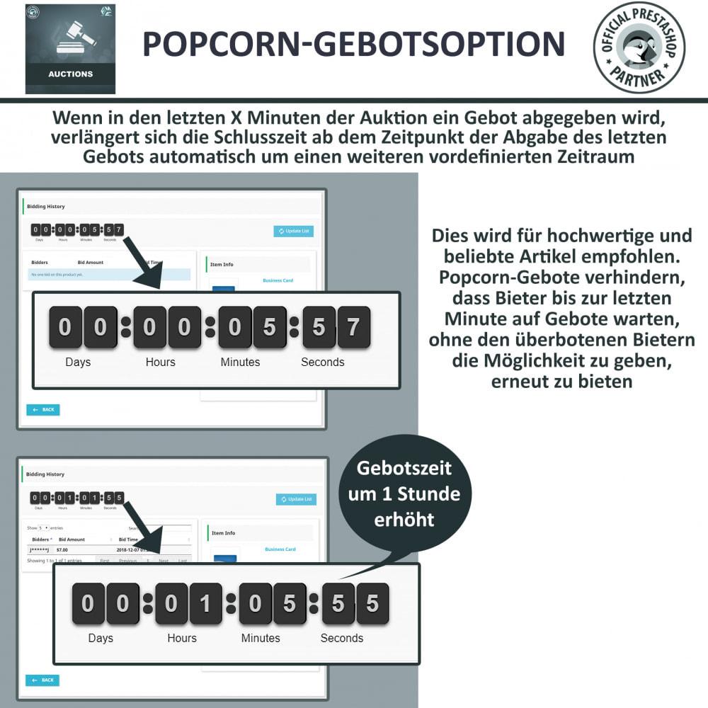 module - Auktionsseiten - Auktion Pro, Online-Auktions und Gebotsmanagement - 4
