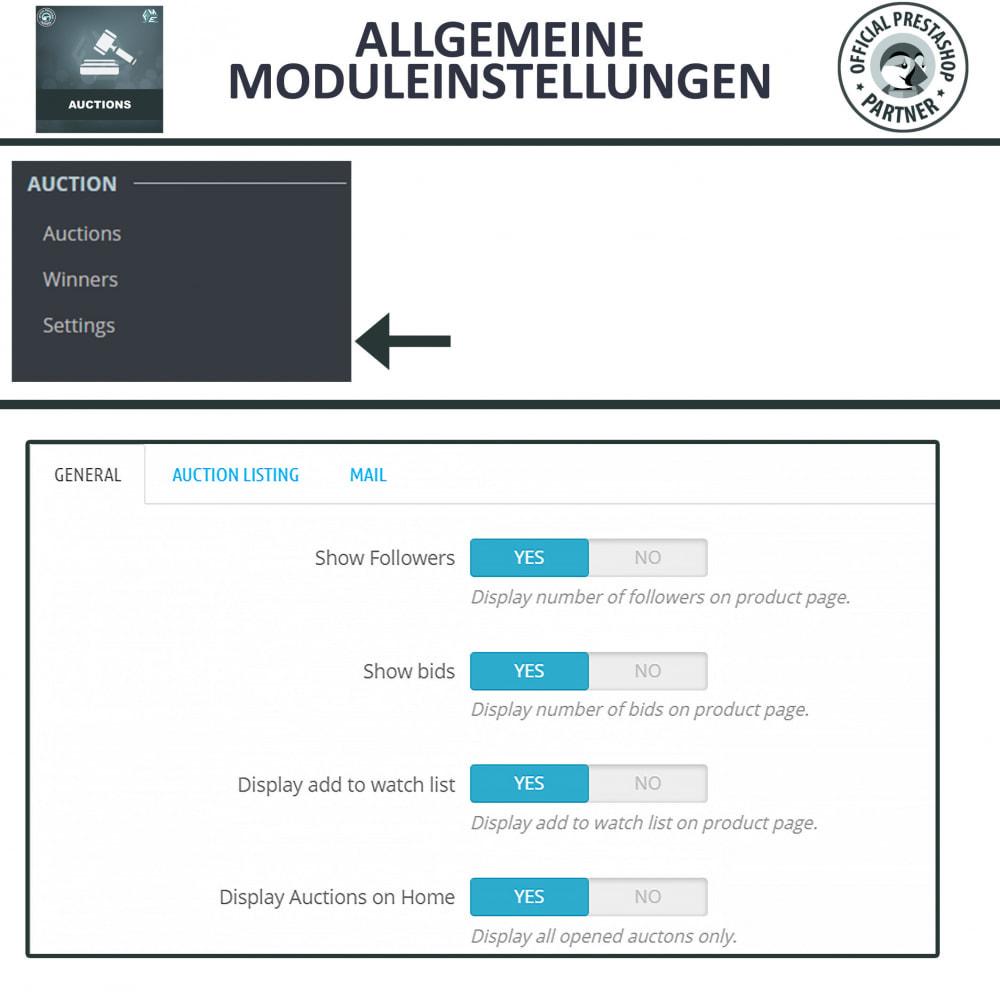 module - Auktionsseiten - Auktion Pro, Online-Auktions und Gebotsmanagement - 17