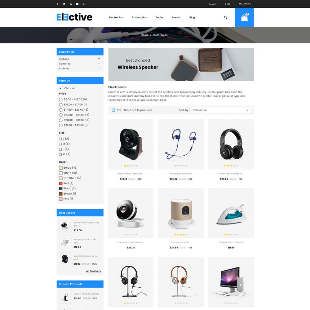 theme - Электроника и компьютеры - Elective Electronics Store - 3