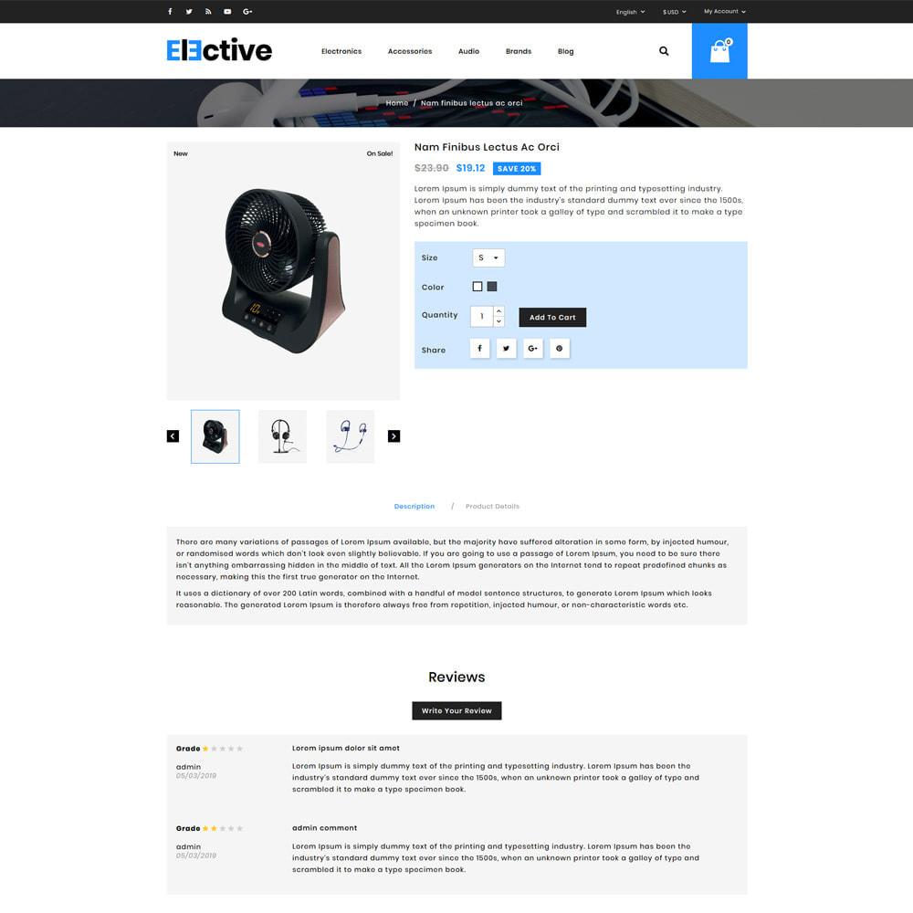theme - Электроника и компьютеры - Elective Electronics Store - 4
