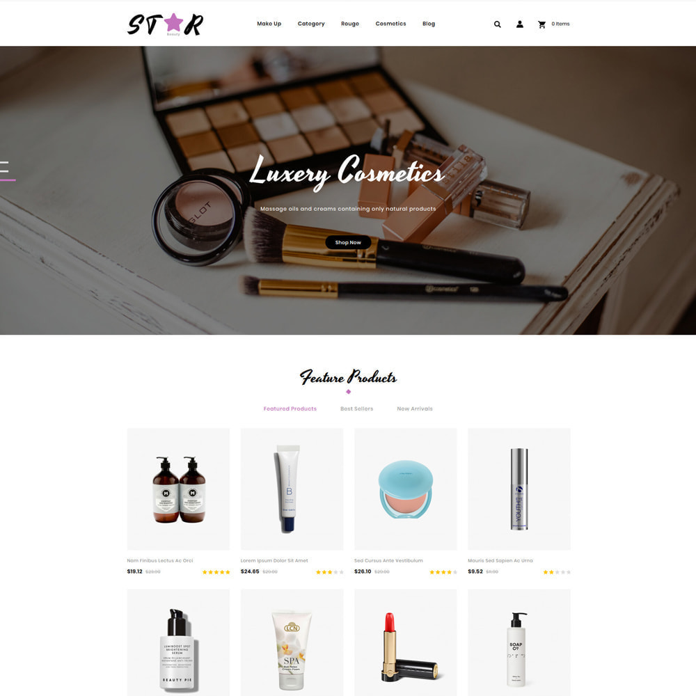 theme - Fashion & Shoes - Star Cosmetic Store - 2