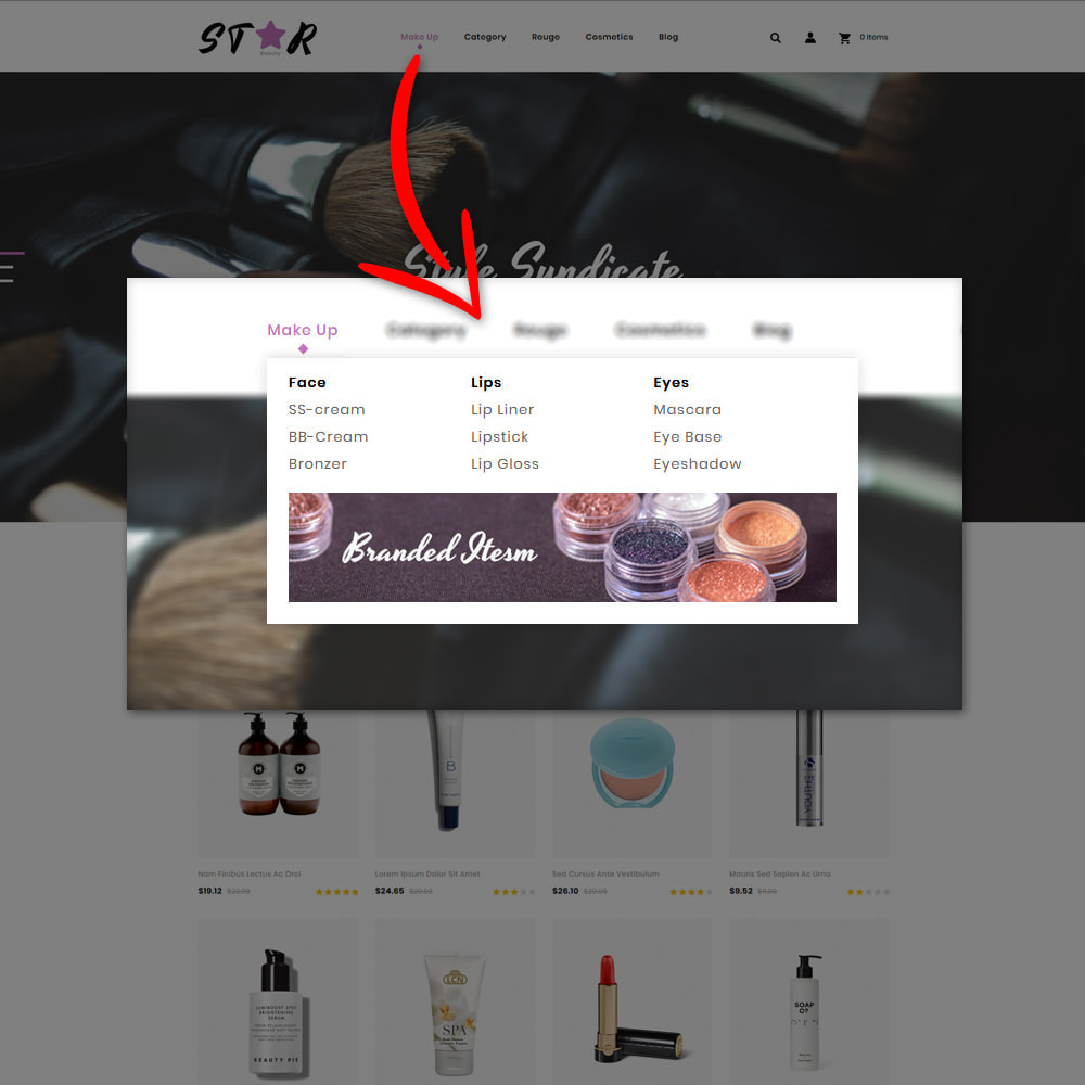 theme - Fashion & Shoes - Star Cosmetic Store - 6