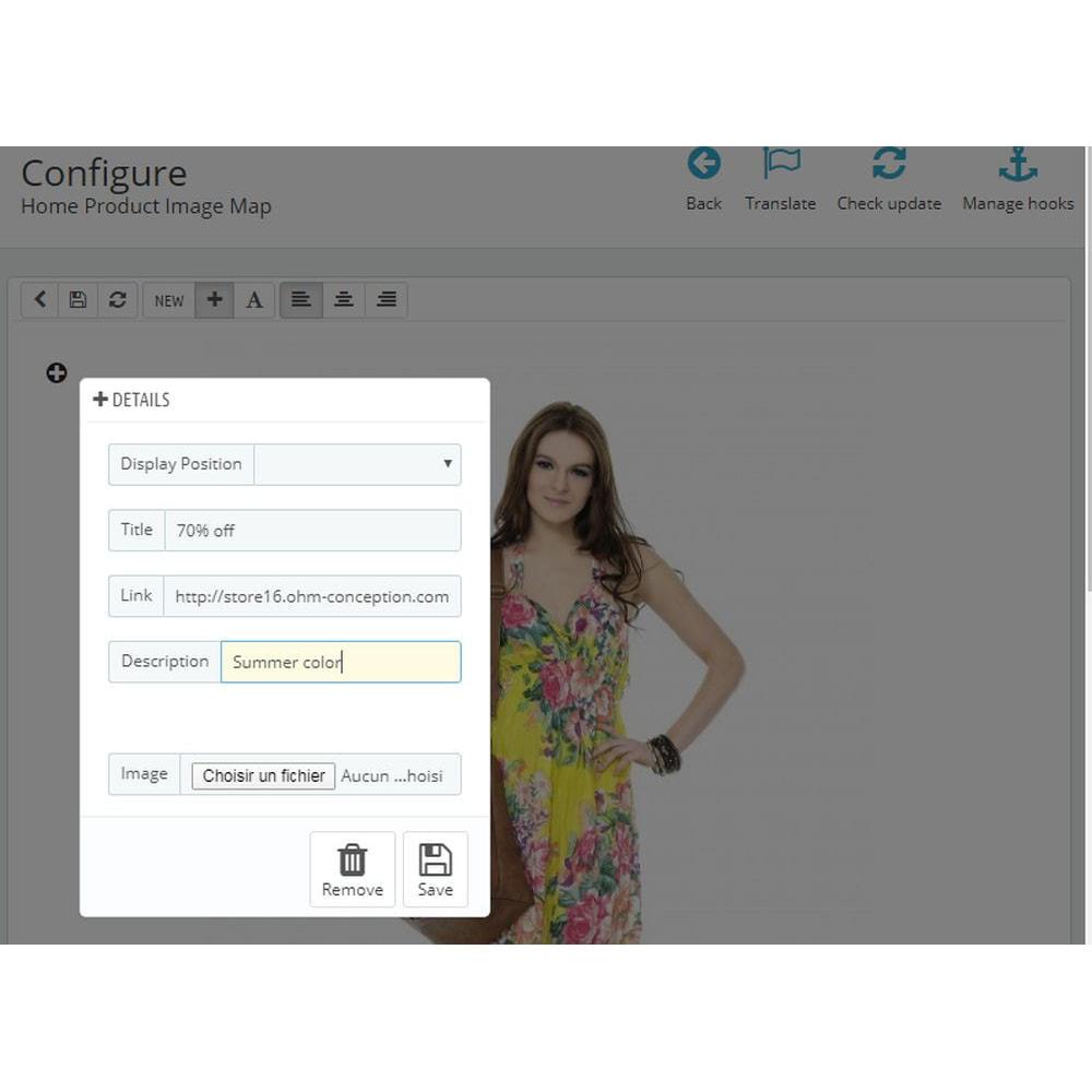 module - Personnalisation de Page - Ajout d'image à la page d'accueil - 4