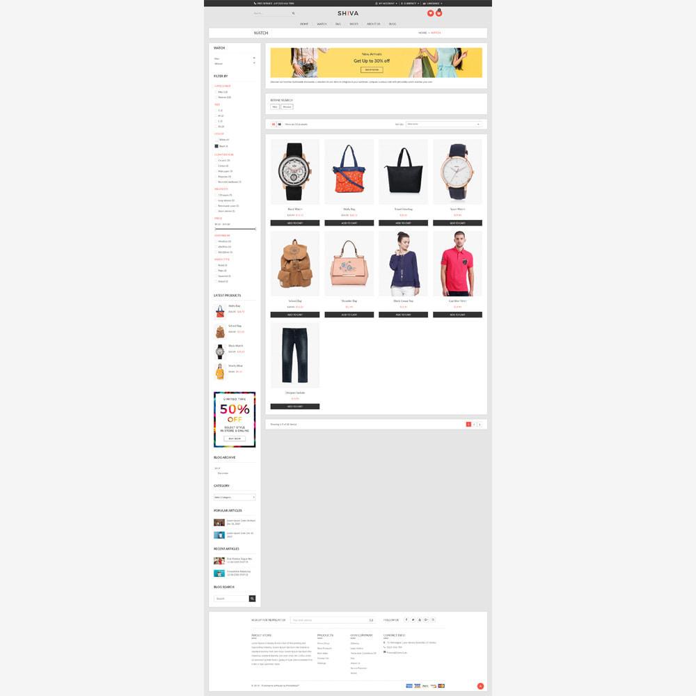 theme - Fashion & Shoes - Shiva Fashion Store - 3