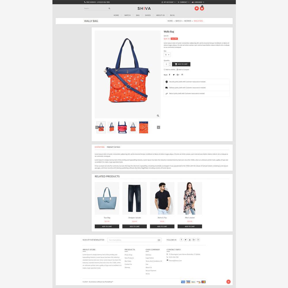 theme - Fashion & Shoes - Shiva Fashion Store - 4