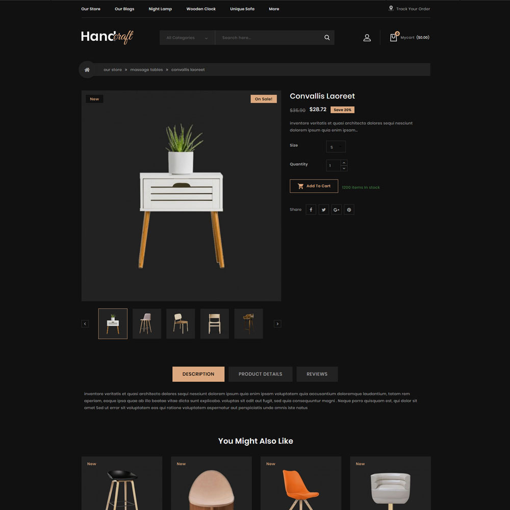 theme - Casa & Jardins - Handcraft - The Furniture Store - 6