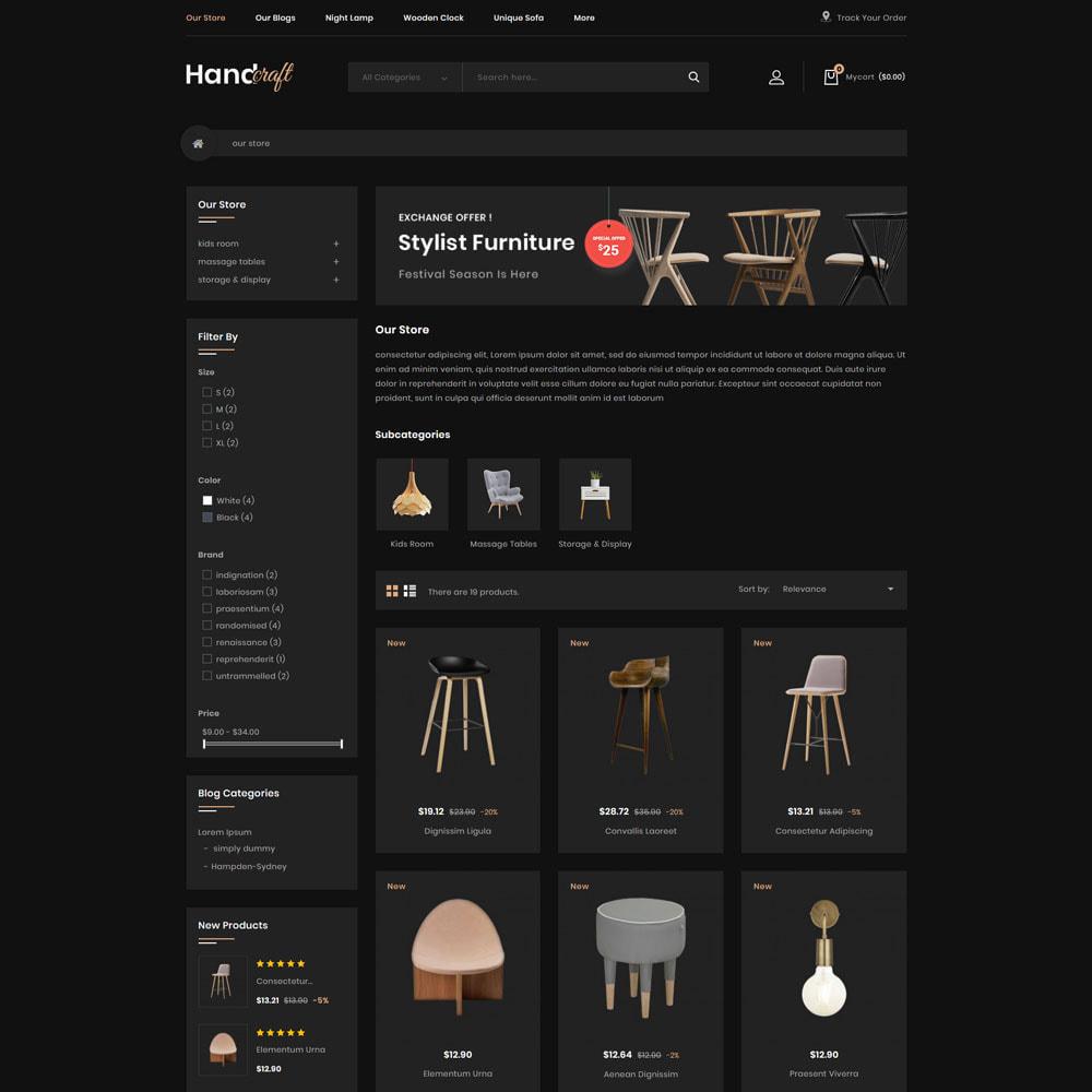 theme - Maison & Jardin - Handcraft - Le magasin de meubles - 5