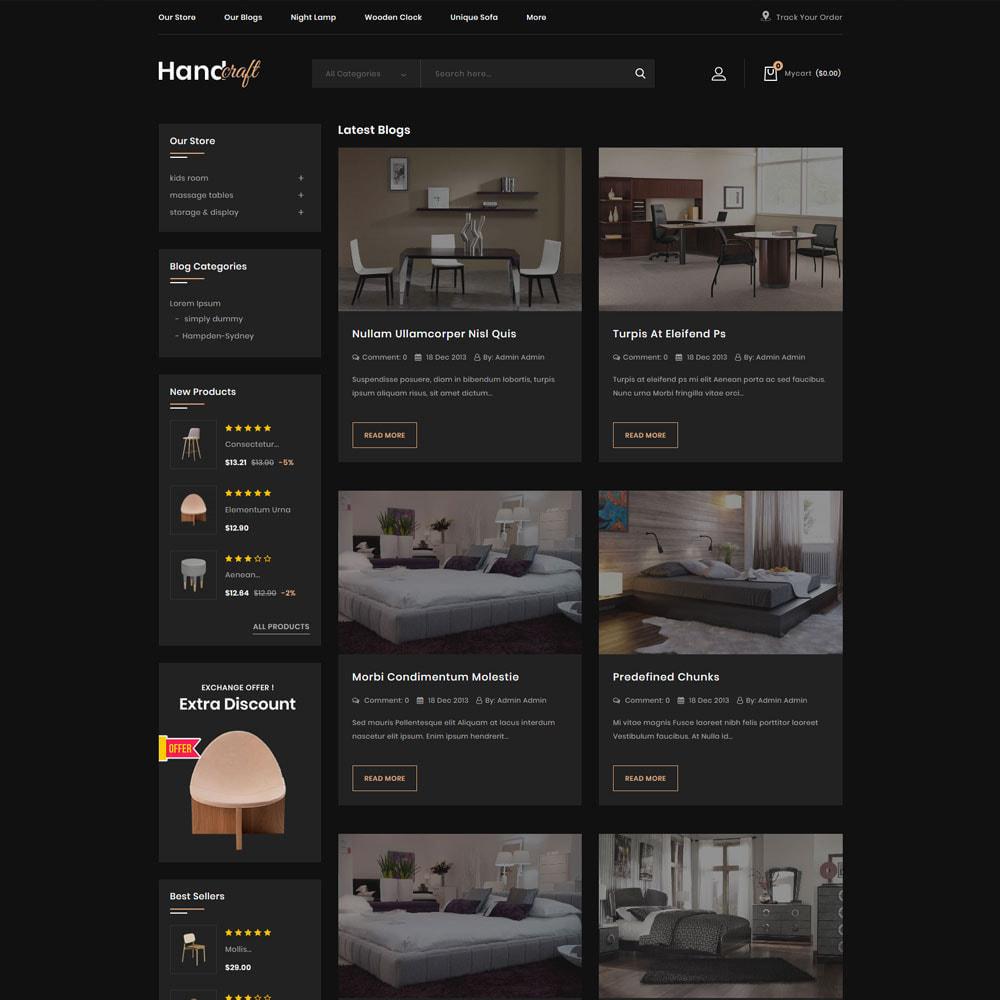 theme - Casa & Giardino - Handcraft - Il negozio di mobili - 8