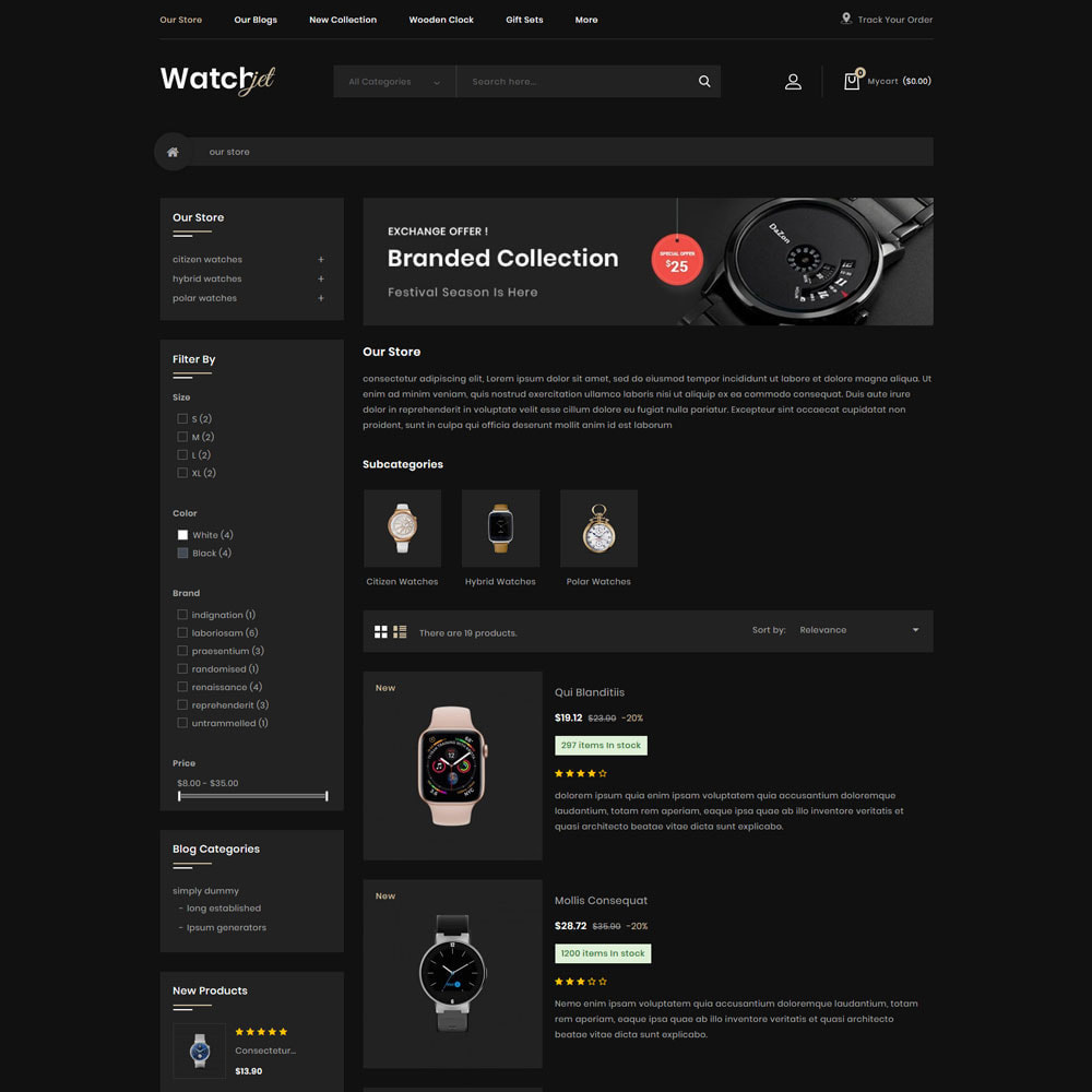 theme - Electronics & Computers - Watchjet - The Watch Store - 5