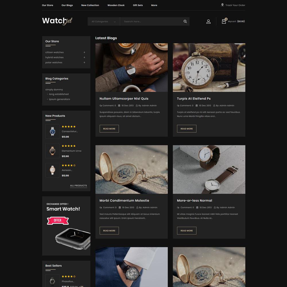 theme - Electrónica e High Tech - Watchjet - La tienda de relojes - 8