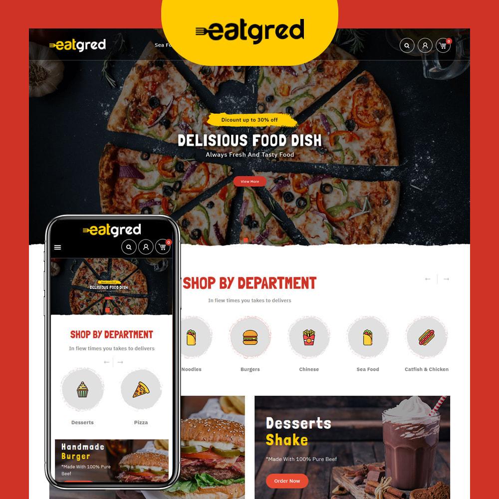 theme - Alimentos & Restaurantes - Eatgred - Food Store - 1