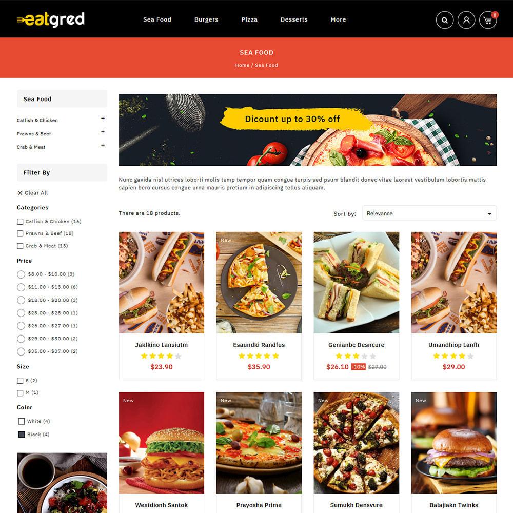 theme - Alimentos & Restaurantes - Eatgred - Food Store - 3