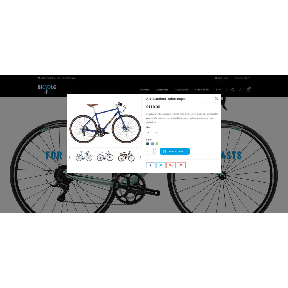 theme - Auto's & Motoren - Bicycle Store - 7