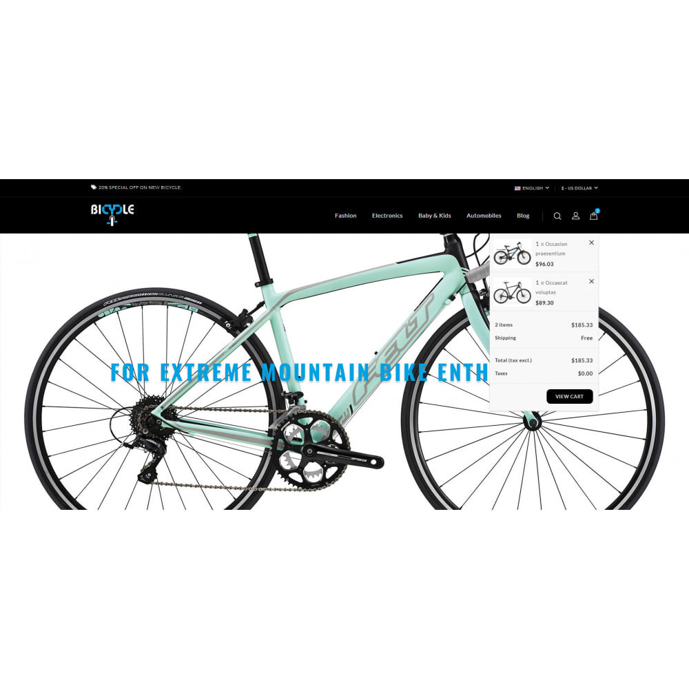 theme - Auto's & Motoren - Bicycle Store - 8