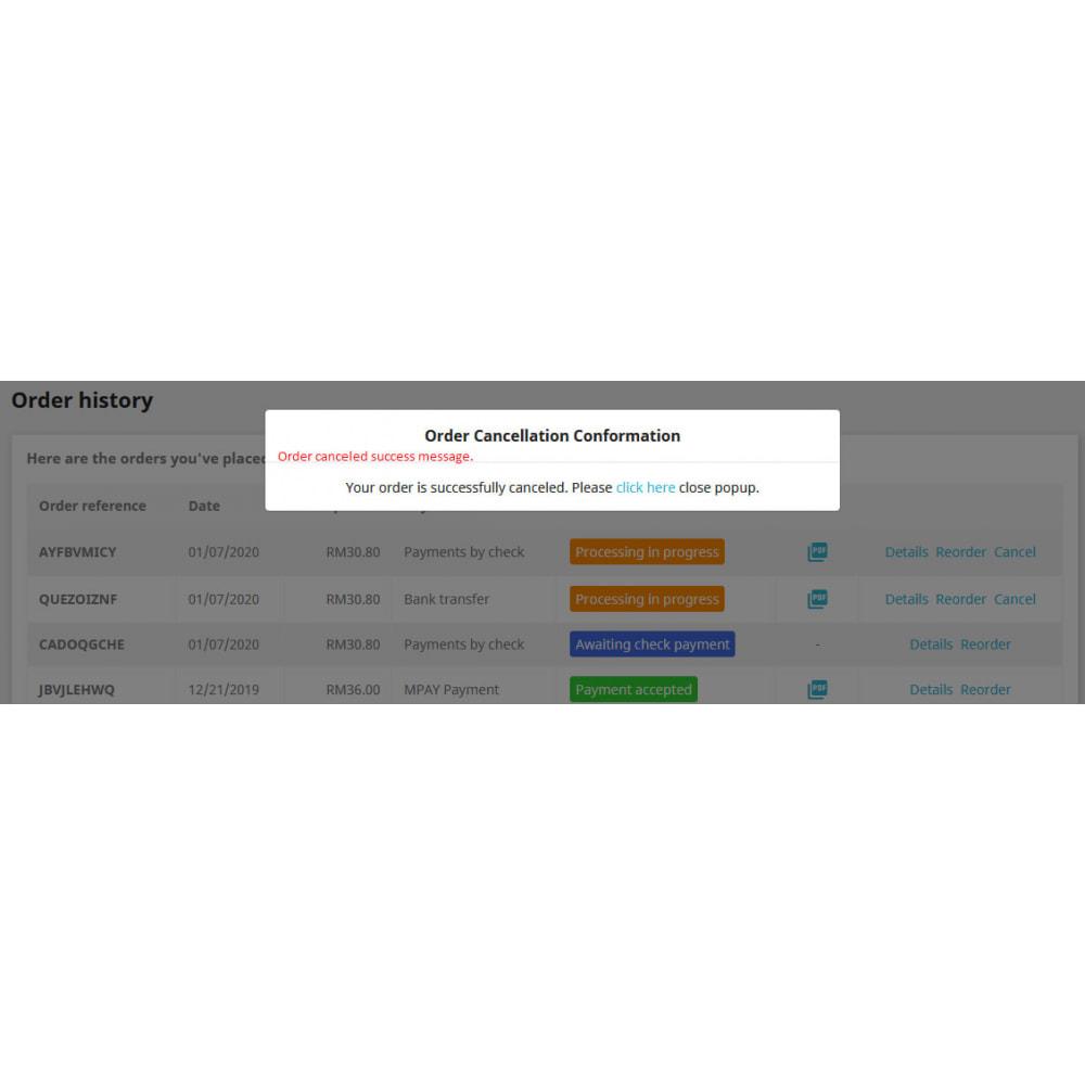 module - Iscrizione e Processo di ordinazione - Cancel Order - 7