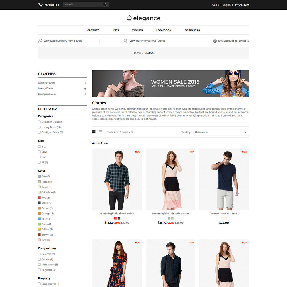 theme - Mode & Chaussures - Elegance Fashion - Designer Watch  Accessories Store - 3